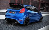 Бампер задний Ford Fiesta MK7 (послерест.)