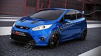 Бампер передний Ford Fiesta MK7 (послерест.)