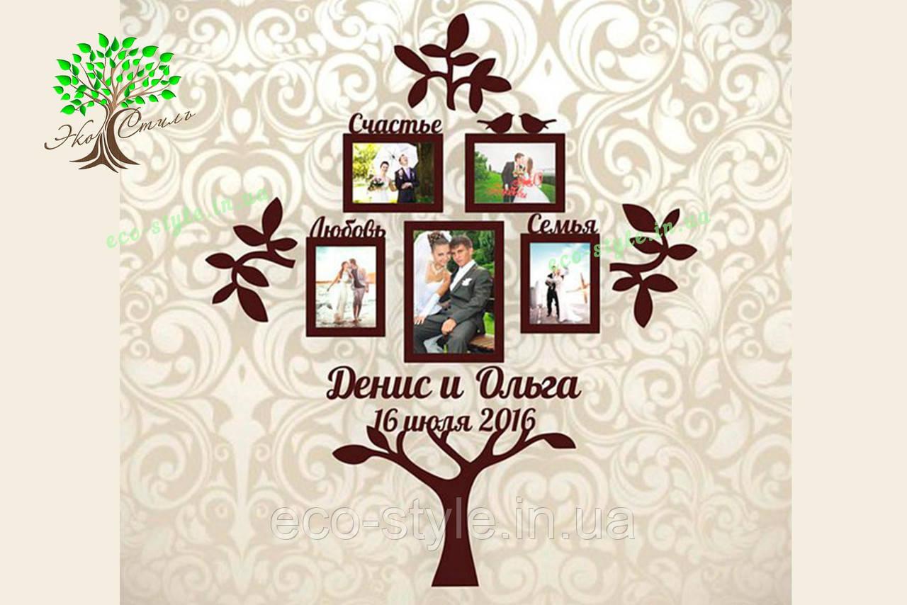 Фоторамки семейное дерево