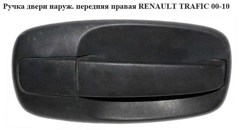 Ручка дверей зовнішня передня права RENAULT TRAFIC 00-14 (РЕНО ТРАФІК)