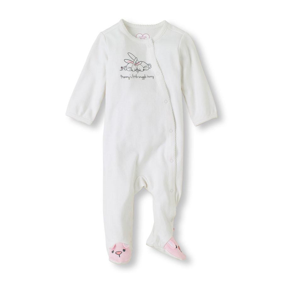 """Комбинезон для новорожденного """"Зайчата"""" Children's Place, человечек для девочки мальчика, на 0-3 мес"""