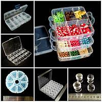 __Боксы, коробочки для бус, бисера, мелких предметов