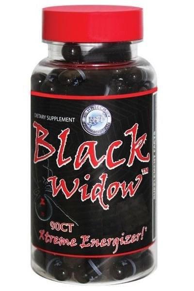 Black Widow Hi-Tech Pharmaceuticals (ECA+DMAA) - 90 caps