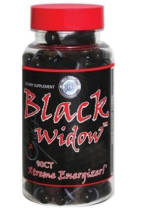 Black Widow Hi-Tech Pharmaceuticals (ECA+DMAA) - 90 caps , фото 2