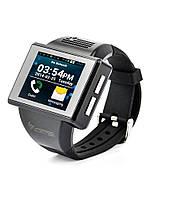 Часы AN1 Smartwatch для iOS/Android Silver (смарт часы)