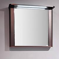 Зеркальный шкаф с подсветкой LED 76 см ШЗ-Carla 800 Буль-Буль Венге