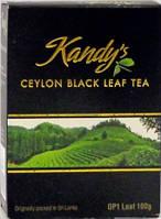 Чай черный  Kandys ceylon tea OP1, 100 гр