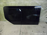Стекло двери. боковой левой (глухое с форточкой сдвижной) RENAULT TRAFIC 00-14 (РЕНО ТРАФИК)