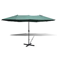 Садовий зонт 2,7 х 4,6 м з центральною стійкою, фото 1