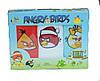 Комплект полотенец детский Angry Birds(Энгри Берц) 30х50 (3 шт)