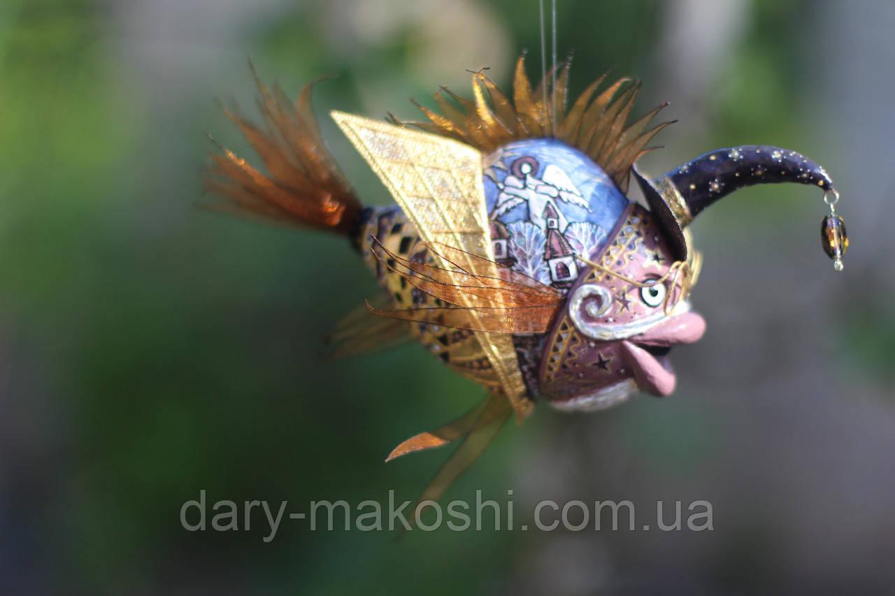"""Рыбка """"звездочёт"""""""