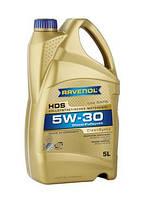 РАВЕНОЛ HDS Hydrocrack Diesel Specific 5W-30 5Л | МАСЛО МОТОРНОЕ СИНТЕТИКА RAVENOL HDS Hydrocrack Di
