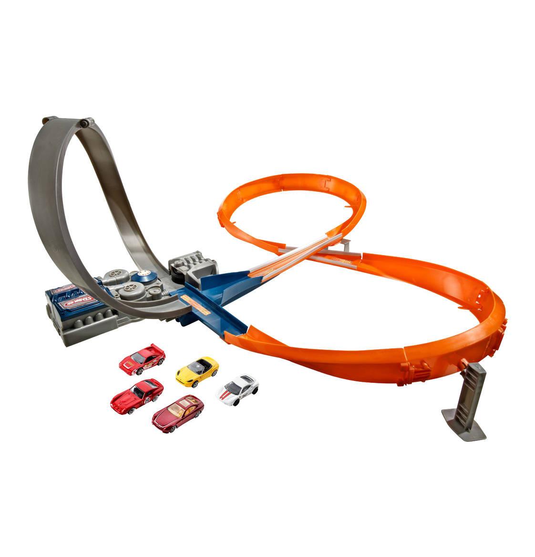 Трек Хот Вилс Hot Wheels супер трек оригинал figure 8 raceway