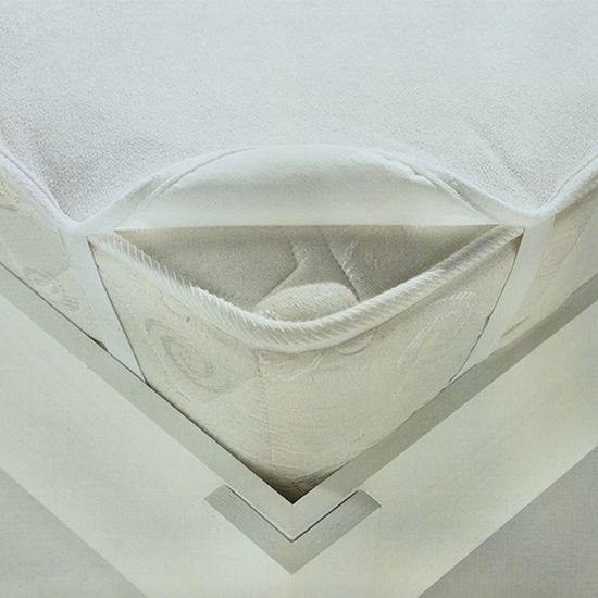 Наматрасник Ласка М с резинкой по углам 60 120 белый
