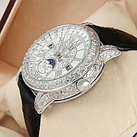 Астрономические часы Patek Philippe Grand Complications 6002 Sky Moon Tourbillon - цвет платина с белым, фото 1