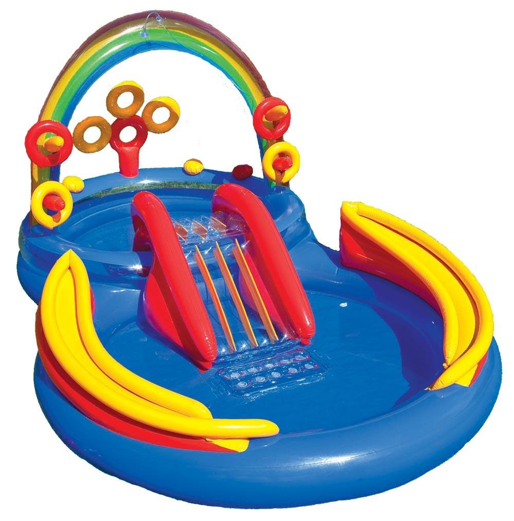 Игровой центр для детей Радуга Intex 57453