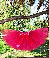 Малиновая пышная юбка ту-ту малиновая