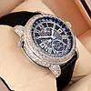 Астрономические часы Patek Philippe Grand Complications 6002 Sky Moon Tourbillon - цвет платина с черным