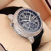 Астрономические часы Patek Philippe Grand Complications 6002 Sky Moon Tourbillon - цвет платина с черным, фото 1