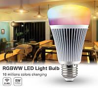 Светодиодная лампочка MiLight RGB+CCT 8W
