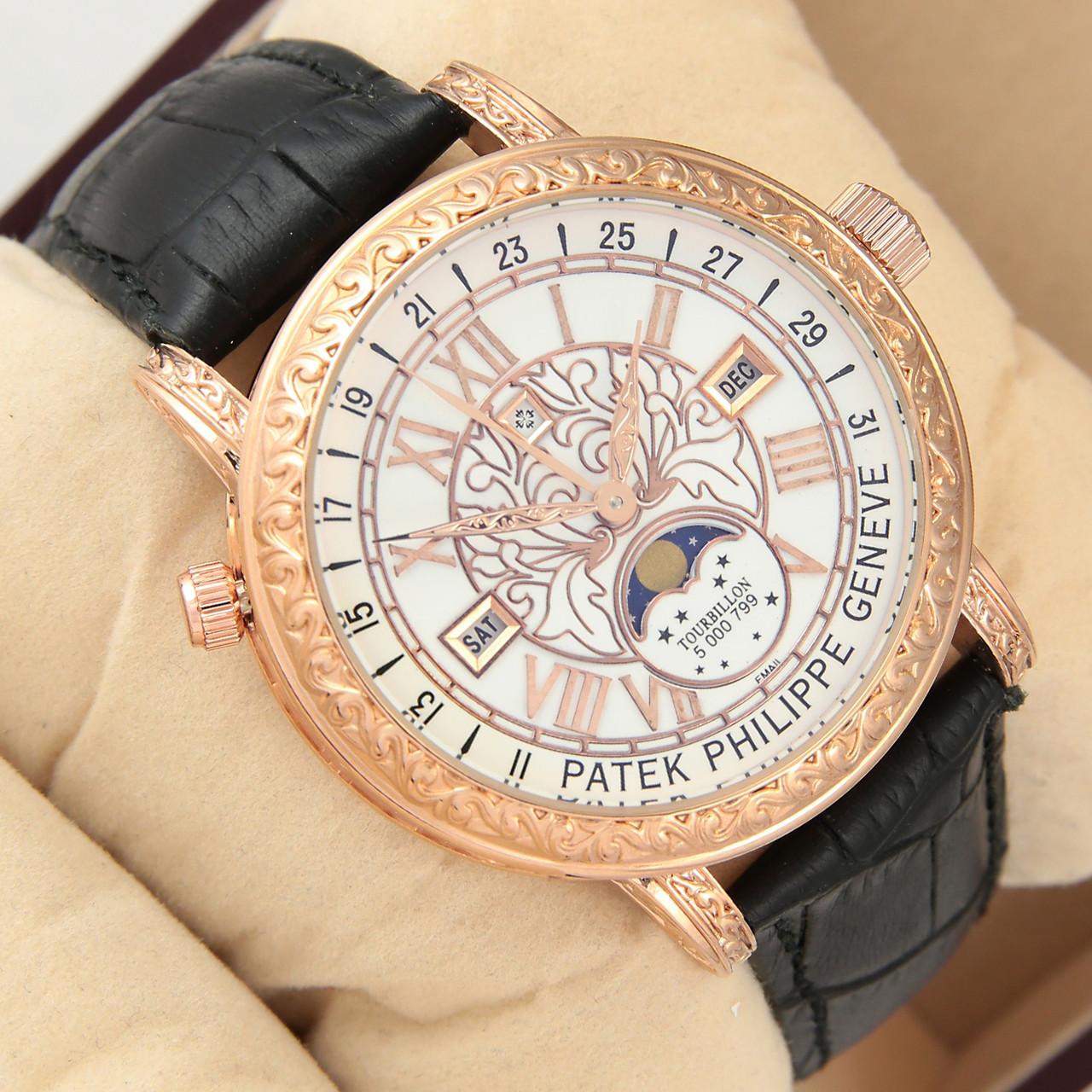338a2c9d Астрономические часы Patek Philippe Grand Complications 6002 Sky Moon  Tourbillon - цвет золото с белым