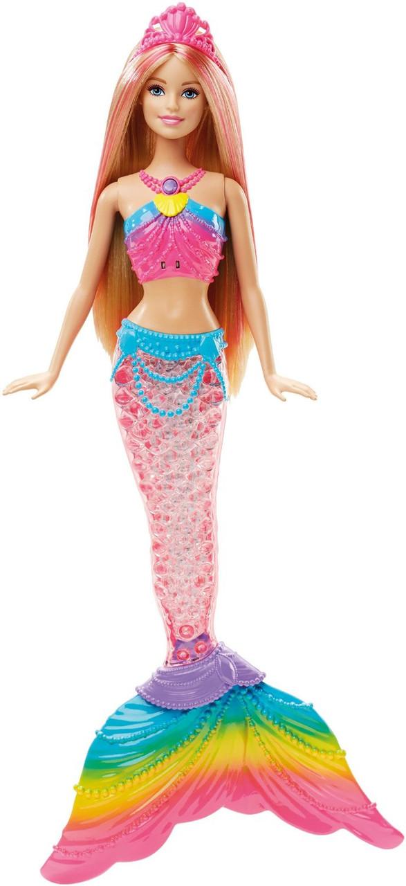 Кукла Барби Русалочка яркие огоньки Barbie