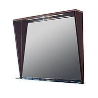 Зеркало с подсветкой Буль-Буль MC-Peggy 85 см ВЕНГЕ