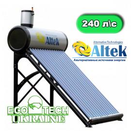 Солнечный коллектор Altek SD-T2-24 (240 л в сутки) сезонный безнапорный