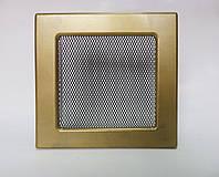 Решетка каминная Kratki с покрытием, Золото гальваническое