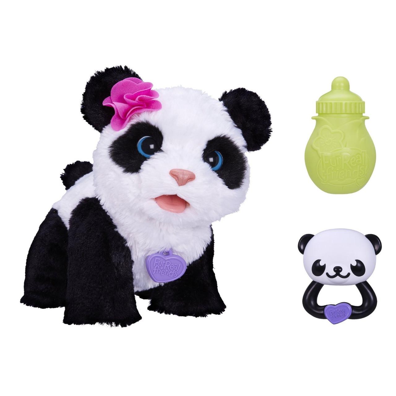 Интерактивная малыш панда Пом Пом детская игрушка FurReal Friends PomPom Panda Hasbro A7275