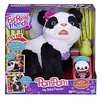 Интерактивная детская игрушка панда Пам Пам FurReal Friends PomPom Panda