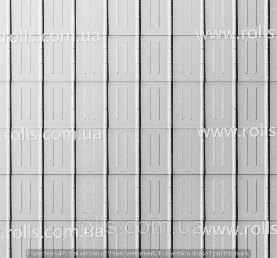 Dachplatte Silbermatallic - Черепица алюминиевая, цвет Серебристый металлик, Prefa Кровельный лист, Roof tile