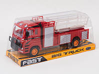 Машина Пожарная лестница 3698-22, JAMBO инерц, в блистере