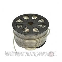 Светодиодная лента 3014-120 W 220В холодный белый IP68, герметичная, 1м