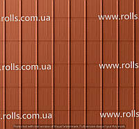 Dachplatte ZIEGELROT - Черепица алюминиевая, цвет Кирпичный красно-коричневый Prefa Кровельный лист, Roof tile