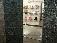 Стеклянные полочки для обуви, фото 1