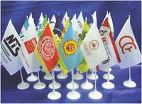 Флаги, флажки, флагштоки.