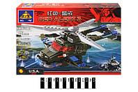 Конструктор Brick  Военный вертолет 251 дет. 81001