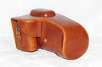 Защитный футляр - чехол для фотоаппаратов NIKON D5100, D5200, D5300 - коричневый