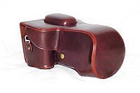 Защитный футляр - чехол для фотоаппаратов NIKON D7000, D7100, D7200 - цвет кофе (коричневый)