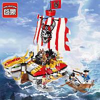"""Конструктор """"Пиратский корабль"""" 1312 Brick, 464 детали"""