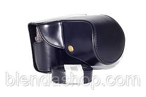 Захисний футляр - чохол для фотоапаратів Panasonic Lumix DMC GF6, DMC GF5, DMC GF3 - колір чорний