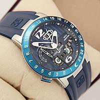 Мужские часы в стиле Nardin - El Toro GMT синие