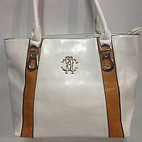 Стильные женские кожаные сумки фабричные(26х39см)  оптом