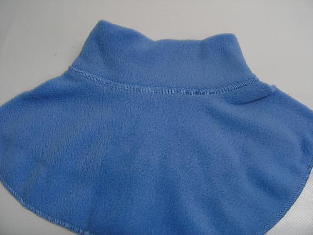 Шарфик - горлышко голубой