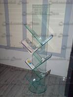 Стеклянные витрины под печатную продукцию