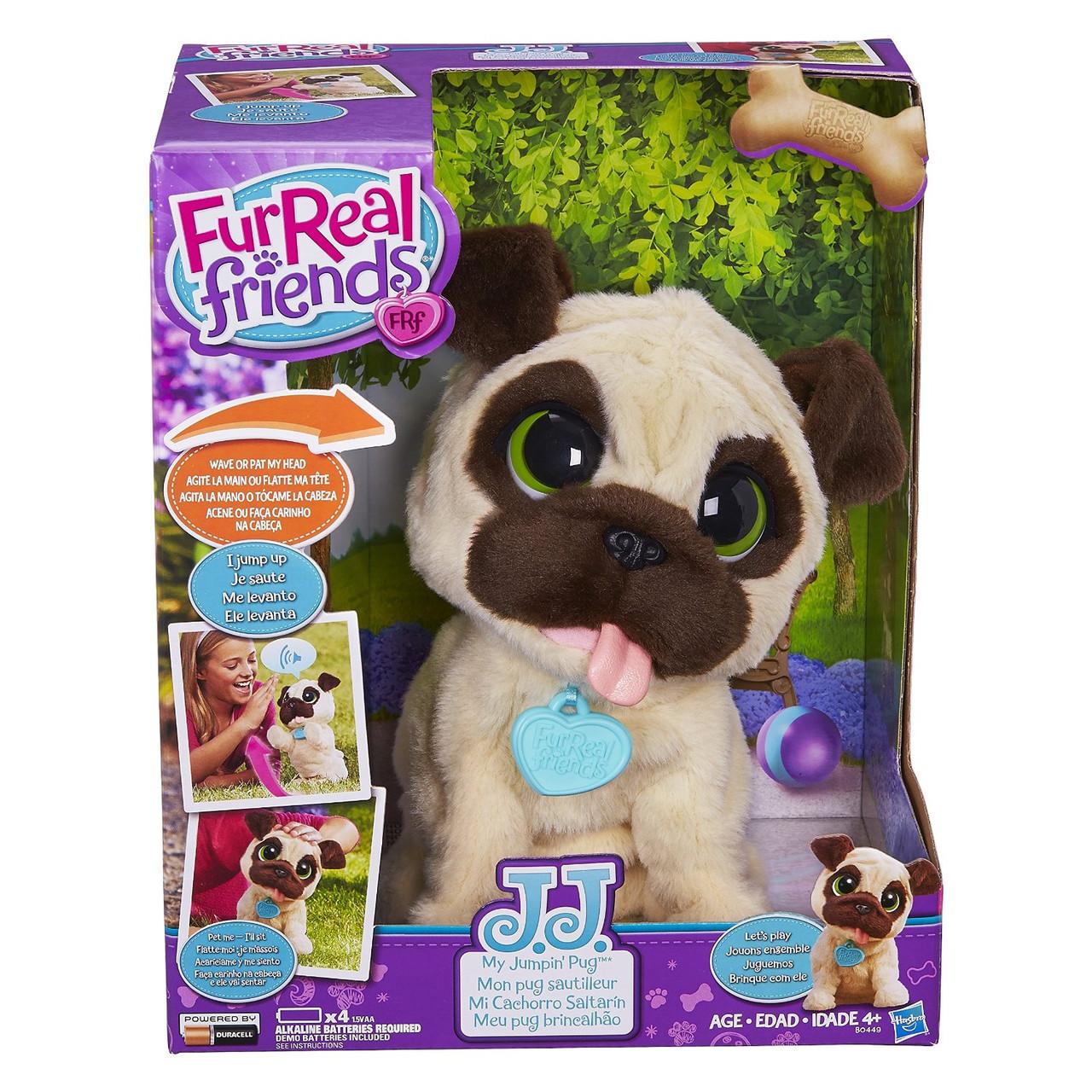 Игривый щенок FurReal интерактивная мягкая игрушка Friends JJ B0449