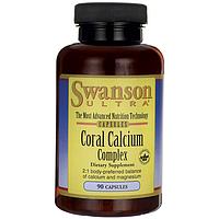 Идеальный природный источник для сильных костей -Комплекс Кораллового кальция /Coral Calcium Complex, 90 капс