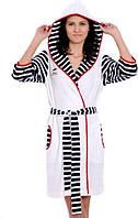 Халат ARYA Miss Emily с капюшоном M 1351152 Xl, Белый