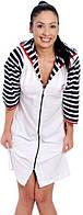 Халат ARYA женский с капюшоном XL 1351160 L, Белый